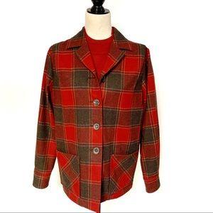 Pendleton Heritage Ltd Ed Red Pattern BlazerSmall